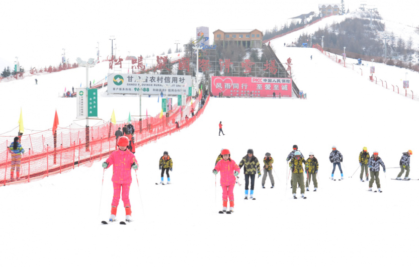 松鸣岩滑雪长